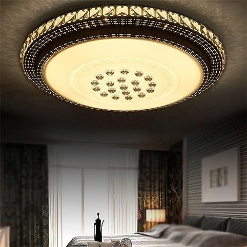 Elegant SAILUN 36W Warmweiß Runde LED Kristall Deckenleuchte Badleuchte Licht  Schlafzimmer Wohnzimmer Deckenlampe Great Ideas