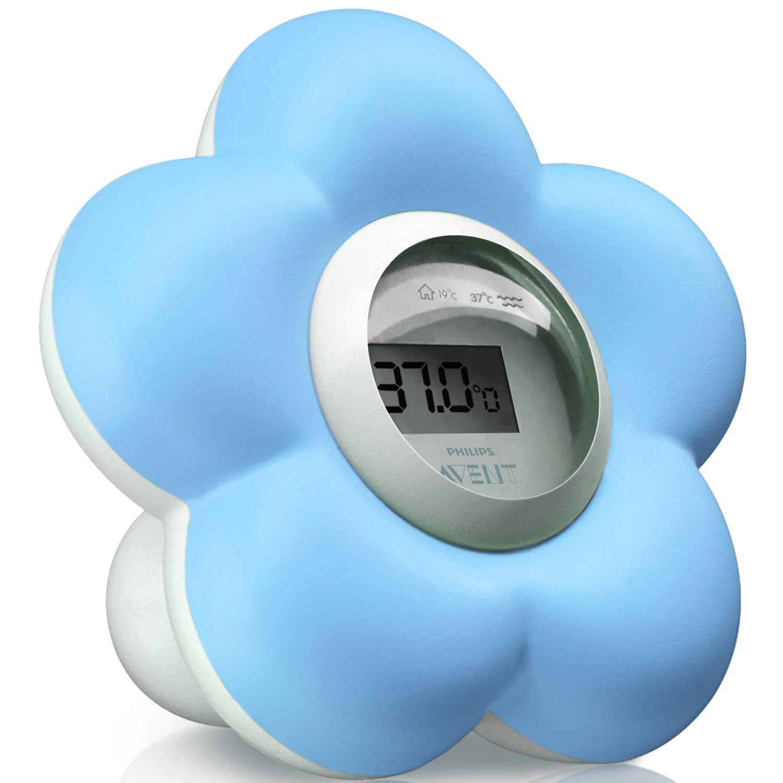 Philips Avent SCH550/20 - Termómetro para habitación y baño, color azul product image