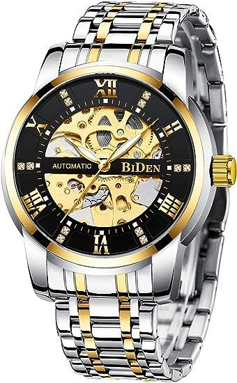 2 Neue Uhren Automatic für Herren, funktioniert ohne Batterie!