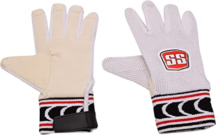 Cotton Inner Gloves Included SS Cricket Wicket Keeping Gloves Mens Size