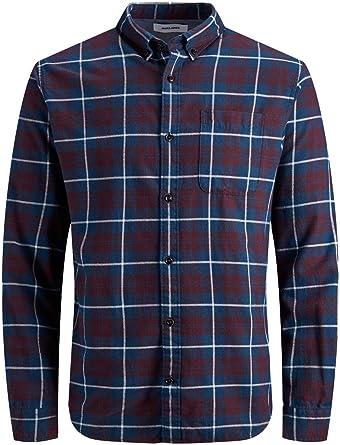Jack /& Jones Jjegingham Shirt L//S Noos Camisa para Hombre