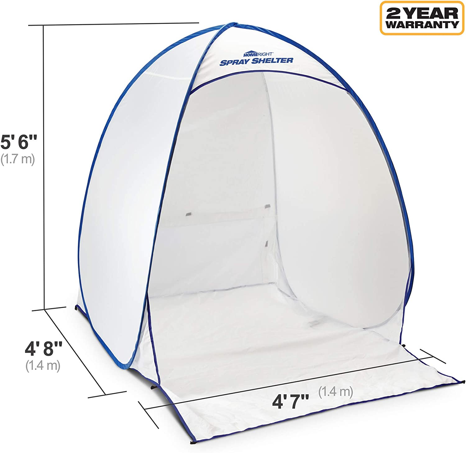 Homeright C900139.M Medium Spray Shelter Paint Booth