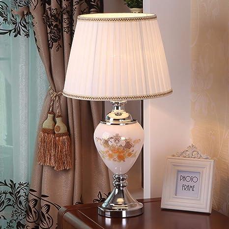 YU-K Lámpara de mesa simple y elegante lámpara de mesa ...