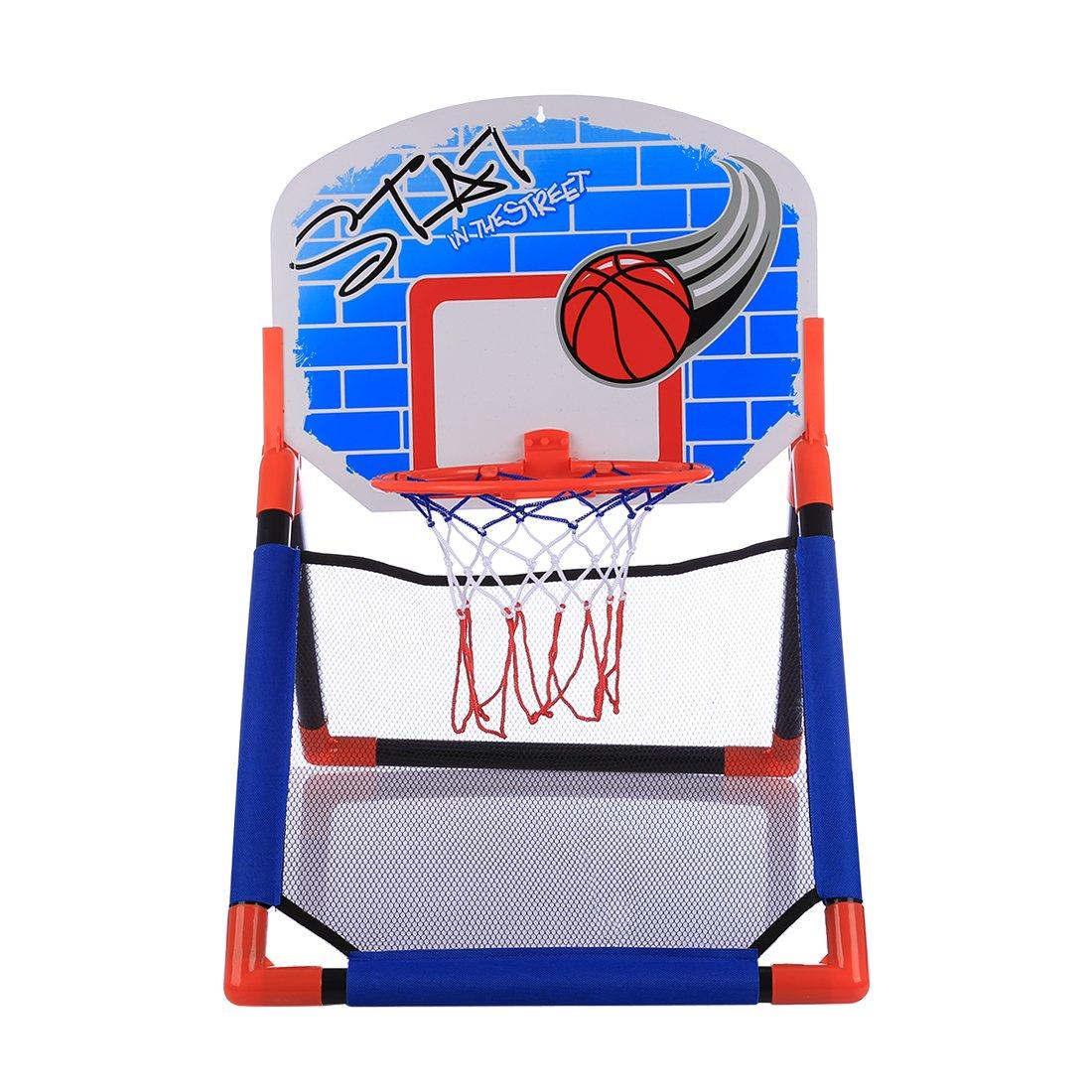 YxFlower Mini Canasta Infantil Baloncesto Ajustable para Ni/ños Juguetes Actividades de interiory por 3-9 a/ños,65x46x44cm