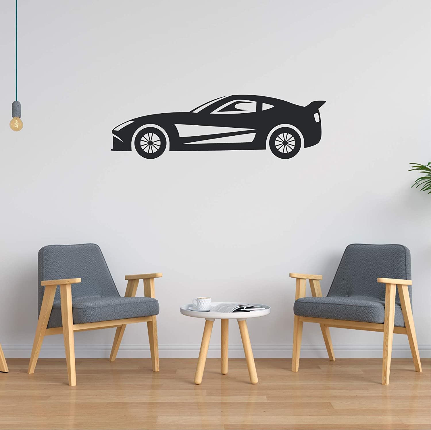 Amazon Com Car Wall Decal Car Wall Sticker Car Wall Art Multiple Sizes Wall Decorations For Bedroom Teen Boy Game Room Wall Sticker Wall Decals For Bedroom Basement Wall Sticker Game Room Wall