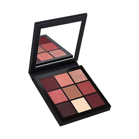 PONY EFFECT Master Eye Palette Duochrome Shimmer 11g, 4.5 Ounces, Shimmer pigmented makeup Palette, Glitter eyeshadow Palette, 8 colors
