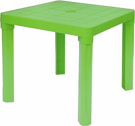 Mesa baja de plástico multicolor para niños exterior/interior ...