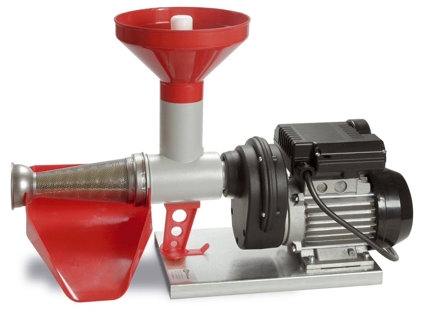 RGV POMMI - Exprimidor (Exprimidor lenta, Negro, Gris, Rojo, Aluminio, Acero inoxidable, 400 W, 395 mm): Amazon.es: Hogar