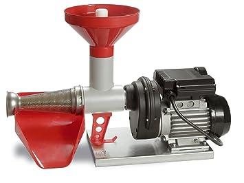 RGV POMMI - Exprimidor (Exprimidor lenta, Negro, Gris, Rojo, Aluminio, Acero inoxidable, 400 W, 395 mm)