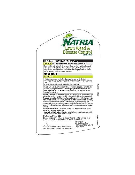 Amazon Natria Bayer Lawn Weed & Disease Control