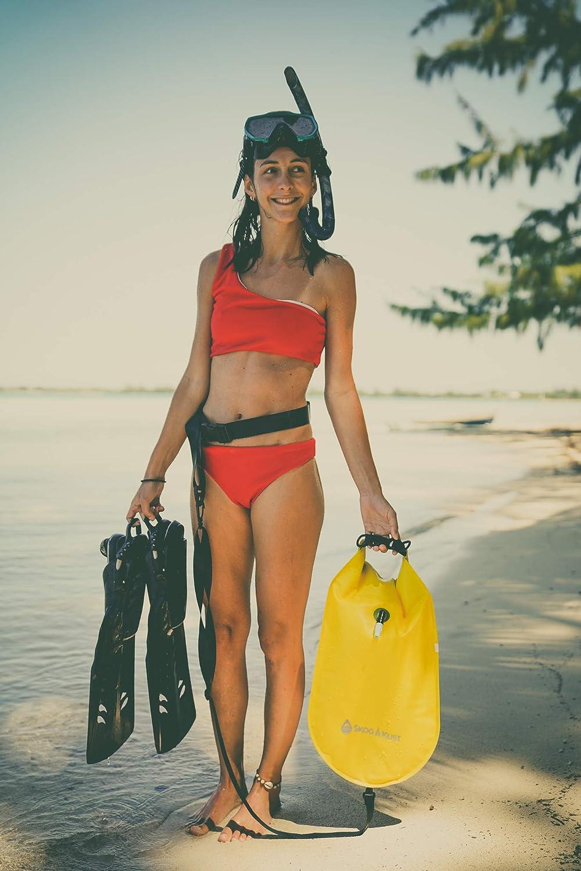 Skog /Å Kust SwimSak 2-in-1 Inflatable Floating Swim Buoy and Waterproof Dry Bag