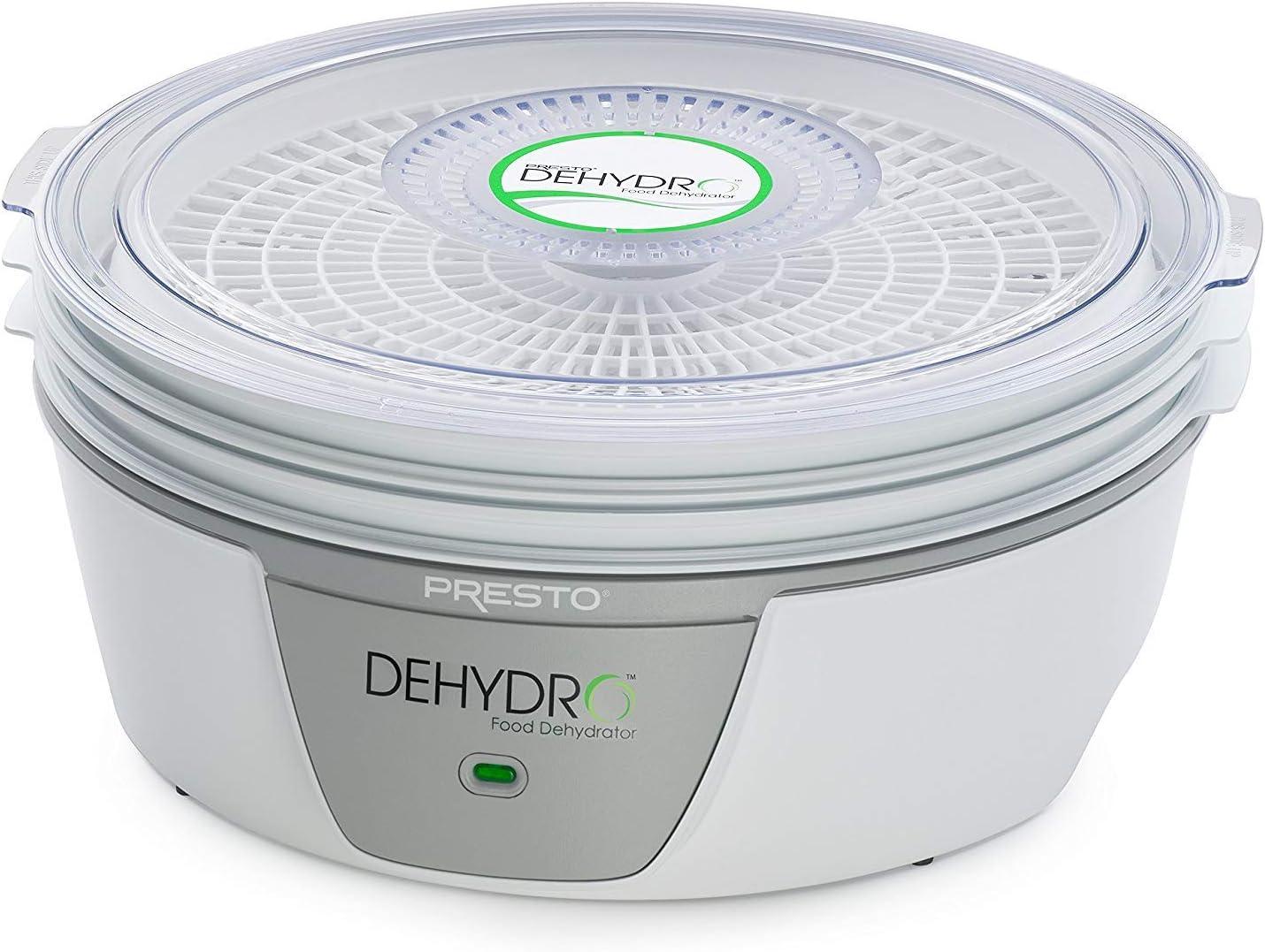 White 120 volts AC 600 watts Presto 06300 Electric Food Dehydrator