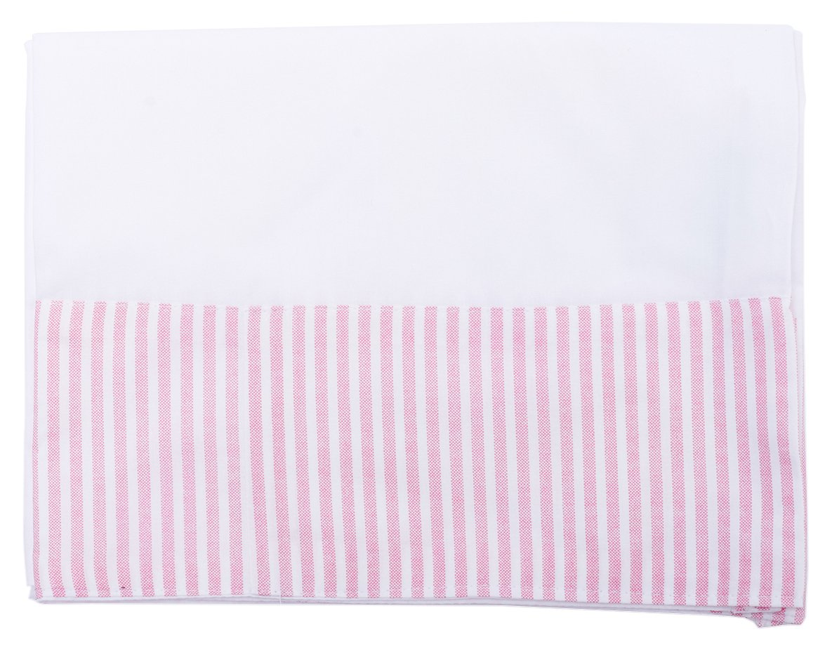 Set of 2 Be-You-tiful Home Stripe Pillow Case Pink King