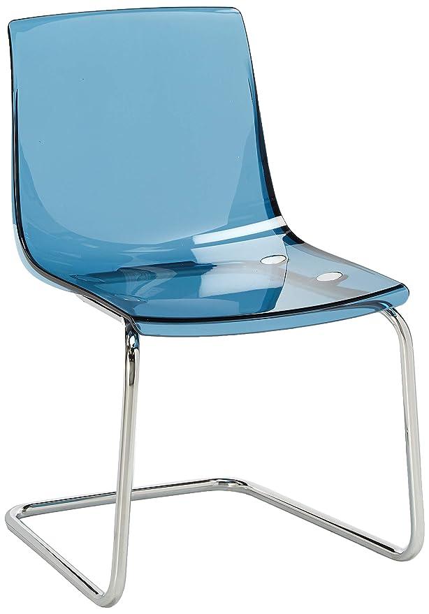 Amazon.com: IKEA silla, Azul, cromado Plated 1428.111423 ...