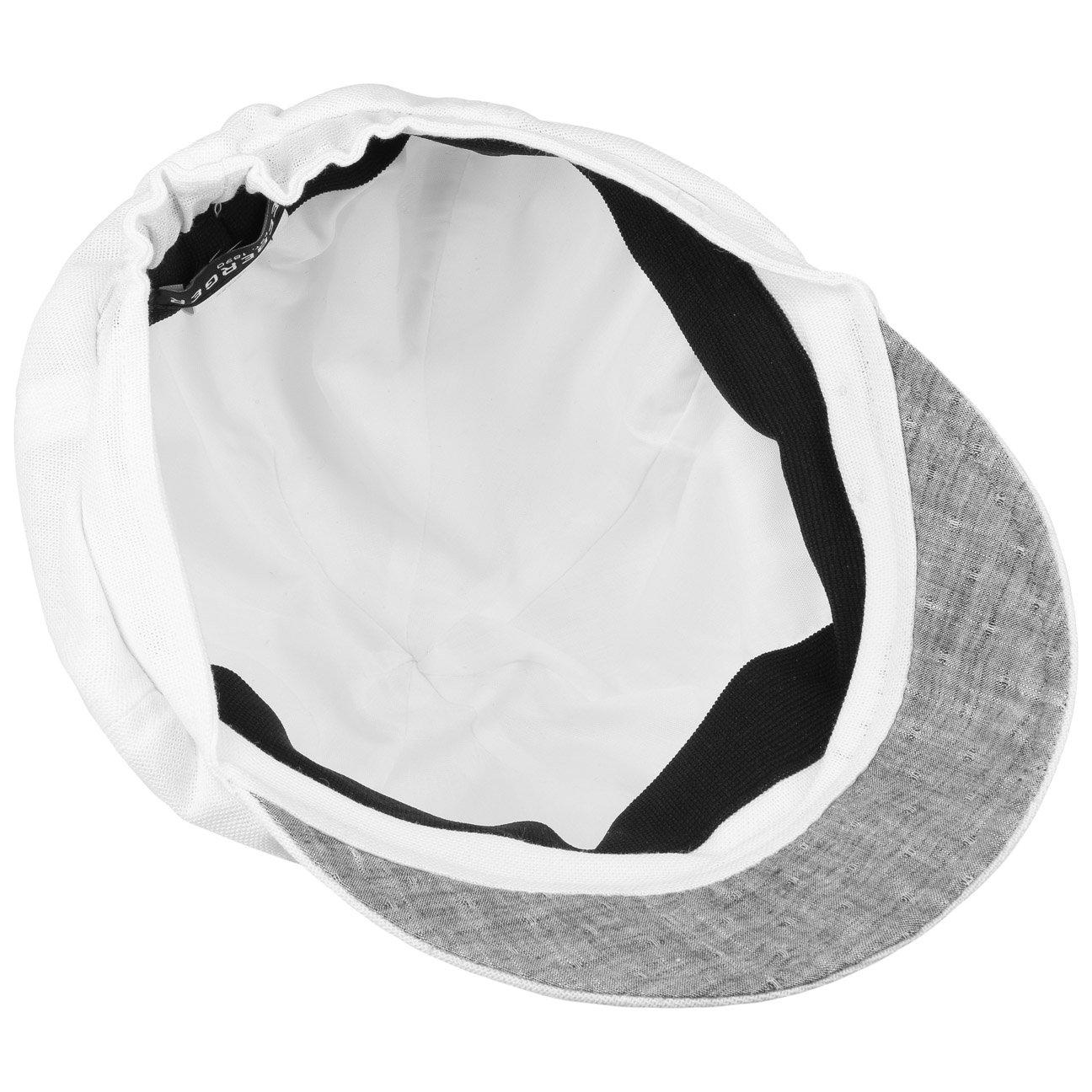Seeberger Classic Ballonm/ütze Baker-Boy-M/ütze Newsboy-M/ütze Schirmm/ütze Baumwollcap Damencap mit Schirm