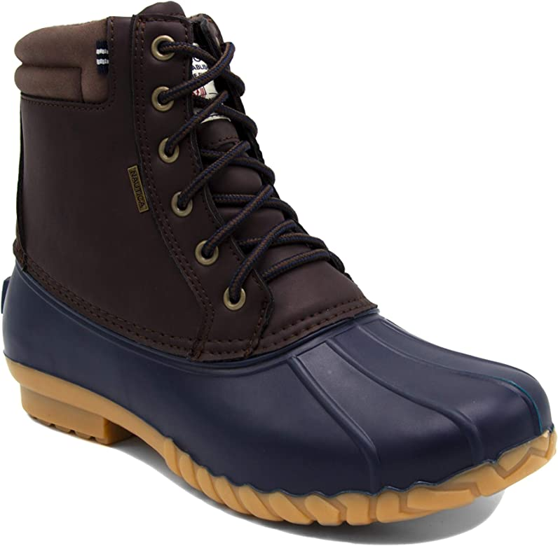 Amazon.com   Nautica Mens Duck Boots