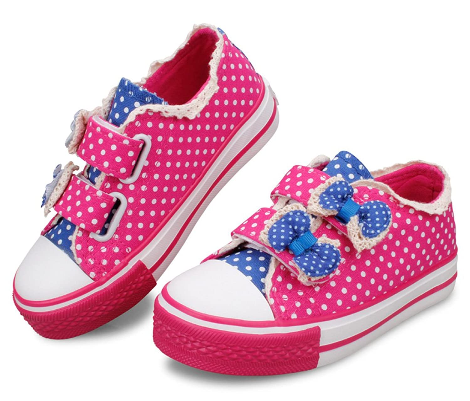 e9f87664f14ba6 2015 New D.s.mor Toddler Little Kid Cute Dots Bow Low Cut Strappy Fashion  Sneaker