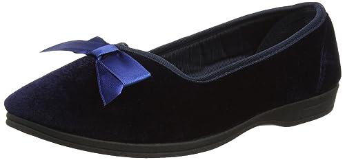 Dunlop Agnes, Zapatillas de casa Mujer, Azul - azul (Navy), 36