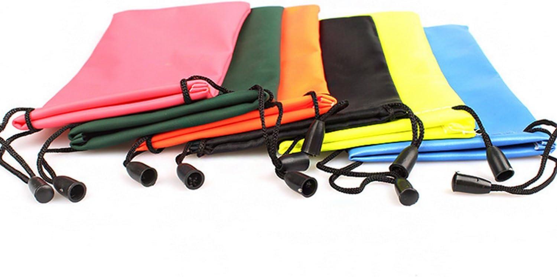 Schwarz 10 STK Sonnenbrillen // Brillen Aufbewahrungstasche Tasche Microfiber Drawstring Rasierer Reinigung Aufbewahrungstasche Tasche Vococal