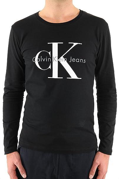 Calvin Klein - Camiseta de Manga Larga J3IJ302251: Amazon.es: Ropa y accesorios