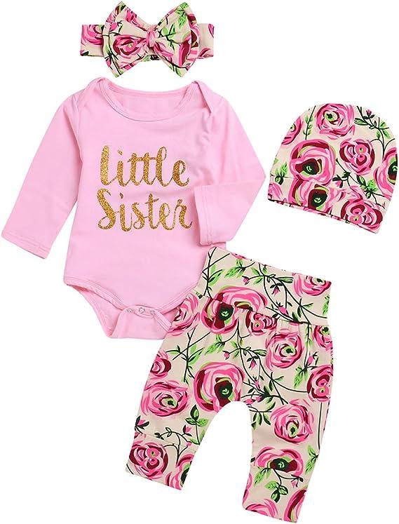 Pantaloni SCFEL Neonato Ragazza Ragazzo Worth The Wait Manica Lunga Pagliaccetto Tops Cappello 3 Pezzi Outfits Set