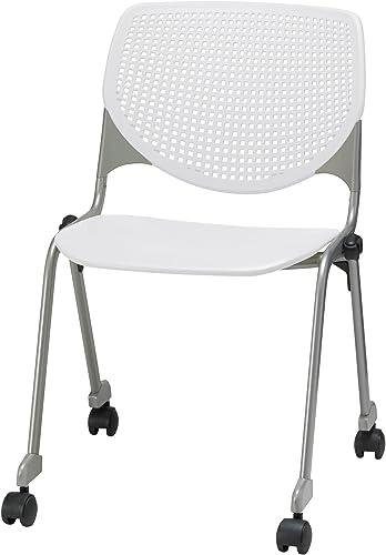 Best living room chair: KFI Seating Kool Series Polypropylene Stack Chair