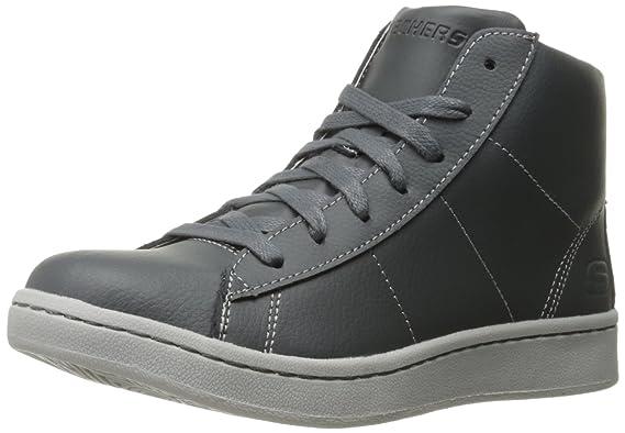 Skechers US Kids Boys' Outgo Sneaker, Charcoal, 2 M US Skechers Little Kid ... b26da1