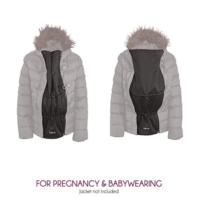 8adfc92701a94 Zip Us In Award Wining Jacket Expander Panel - Extend The Coat You Already  Love and Turn it Into a Maternity Or Babywearing Jacket: Amazon.co.uk:  Clothing