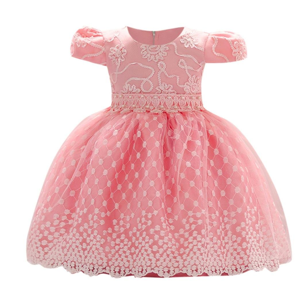 36814c1847479 Pattern Type:Floral---Sleeve Length:Sleveeless ❤ Package include:1PC Girls  Dress ❤ Both hand wash and machine wash is OK ❤️Toddler Newborn Infant ...
