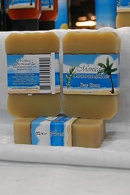 Bay Rum, bar soap, Monicas CocoCastile