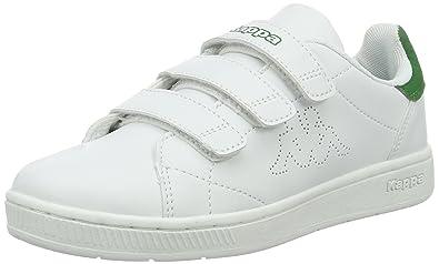 Sneakers Basses Mixte Adulte, Blanc (White), 43 EUKappa