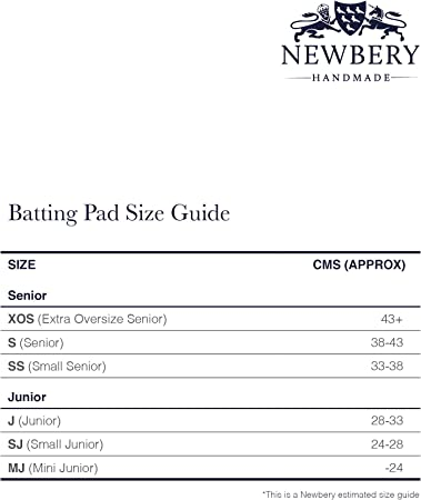 Newbery Cricket Unisex-Youth Batting Pads