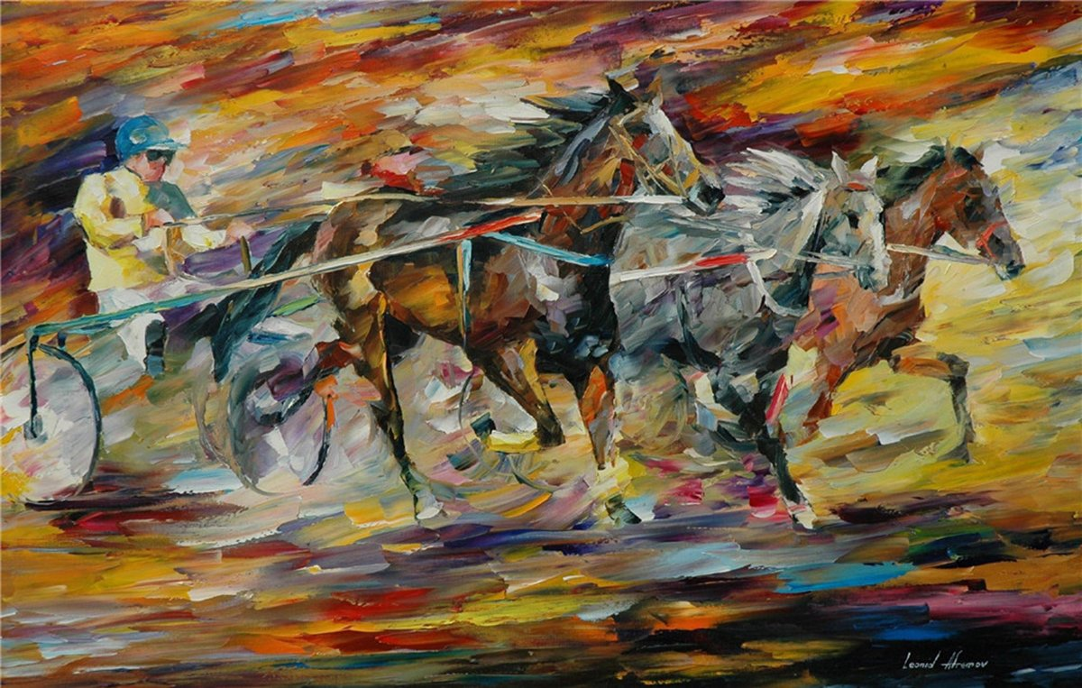 100% Hand Painted Oil Paintings on Canvas Contemporary Abstract Oil paintings Modern Wall Art Paintings Carriage Decor (20X32 Inch, Decor 2) by Bingo Arts