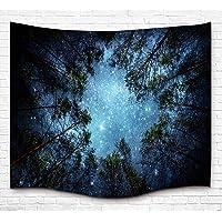 Galaxy espacio tapiz colgar en la pared manta