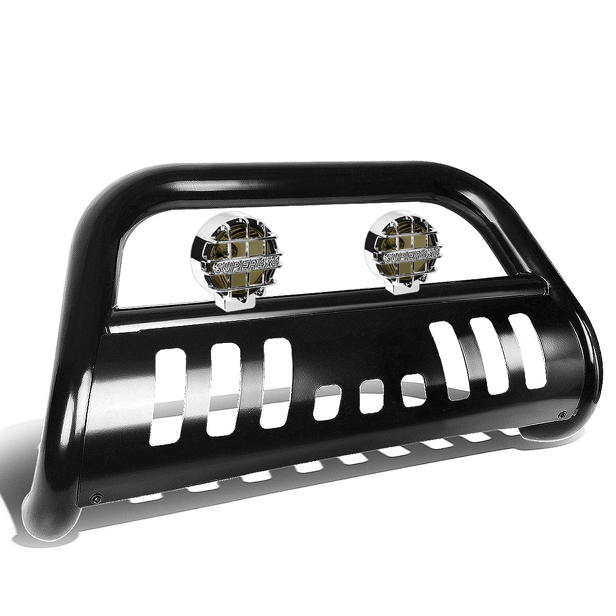 For Pathfinder//Frontier//Xterra 3 inches Black Bull Bar+6 inches Black Housing Amber Lens Fog Lights