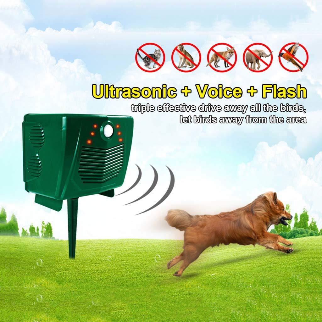 ZPPLD Outdoor Ultrasonic Solar Pest Repellent