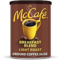 McCafé Breakfast Blend, Light Roast Ground Coffee, 24 oz Canister