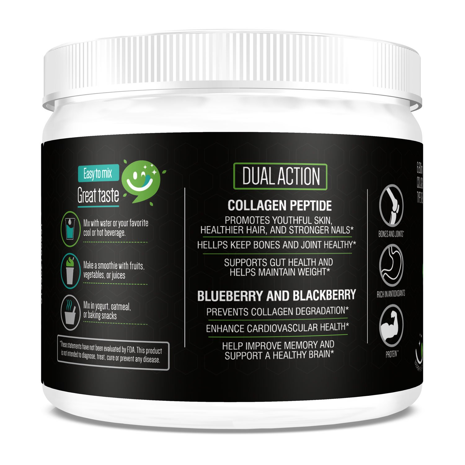 Amazon.com: Collagen Peptides Protein Powder Hydrolysate ...
