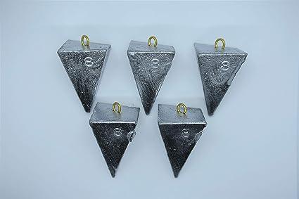 3 pcs ReelSinkerz Pyramid Sinkers Surf Fishing Lead Weights 1 oz 2 oz 4 oz 6 oz 8 oz 16 oz