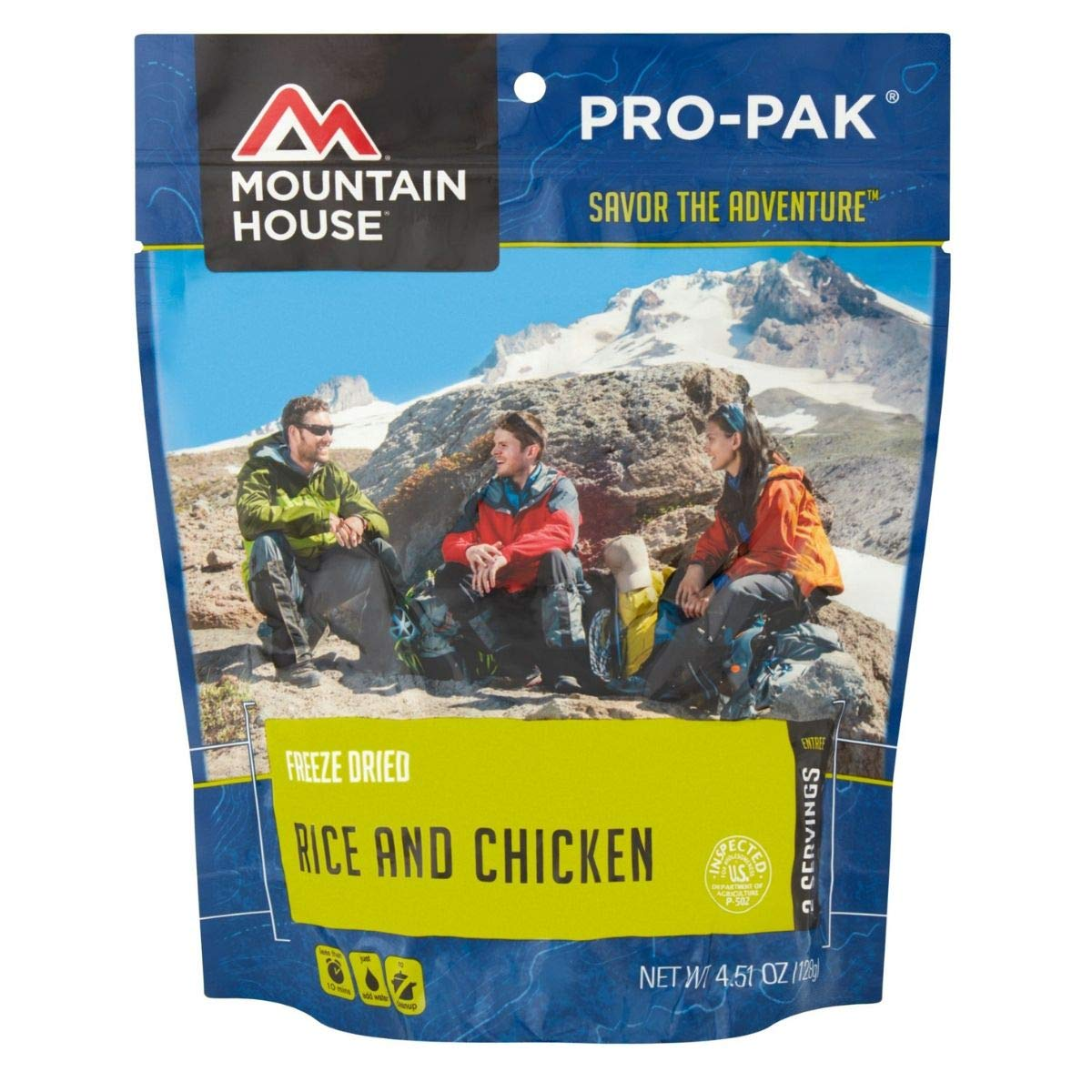 Mountain House Rice and Chicken Pro-Pak (Pack of 4)