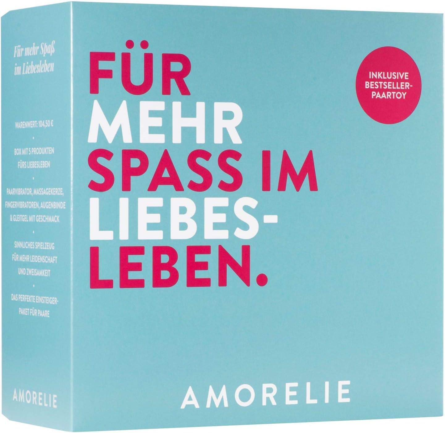 Amorelie - Caja de regalo de San Valentín para parejas - Juguete ...