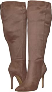 e75ca9a13c6f CHARLES BY CHARLES DAVID Women s Dallan Wide Calf Boot Taupe Stretch Medium  M