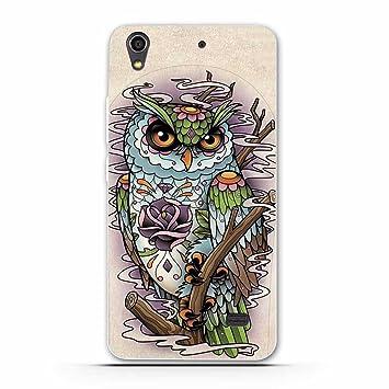 differently more photos various styles Fubaoda Coque Huawei Ascend G620S, Owl Cartoon Tigger Lion Artistique Série  Peinture Étui TPU Silicone élégant et Sobre pour Huawei Ascend G620S (G621  ...