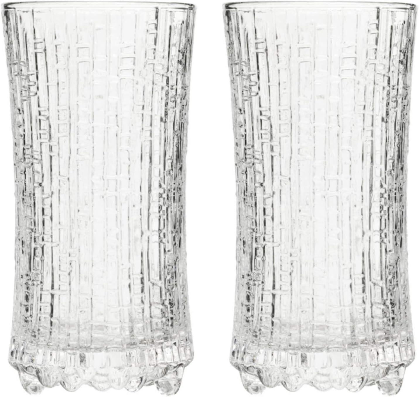 Set of 2 Iittala Ultima Thule Highball Glasses