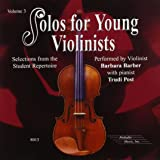 Solos for Young Violinists, Vol 3: Selections from the Student Repertoire