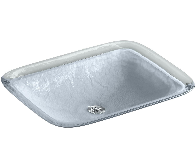 Kohler K 2773 G1 B11 Inia Wading Pool Glass Drop In Rectangular Bathroom Sink Opaque Dusk Bathroom Sinks Tools Home Improvement Grupbaucells Com
