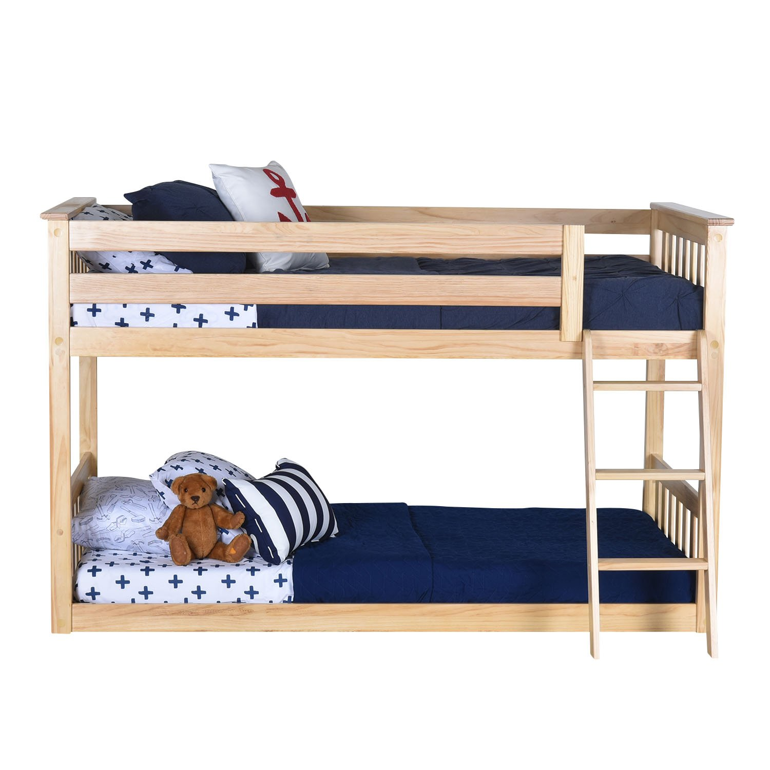 diy old low to how ceiling bed transform beds twin bunk an into