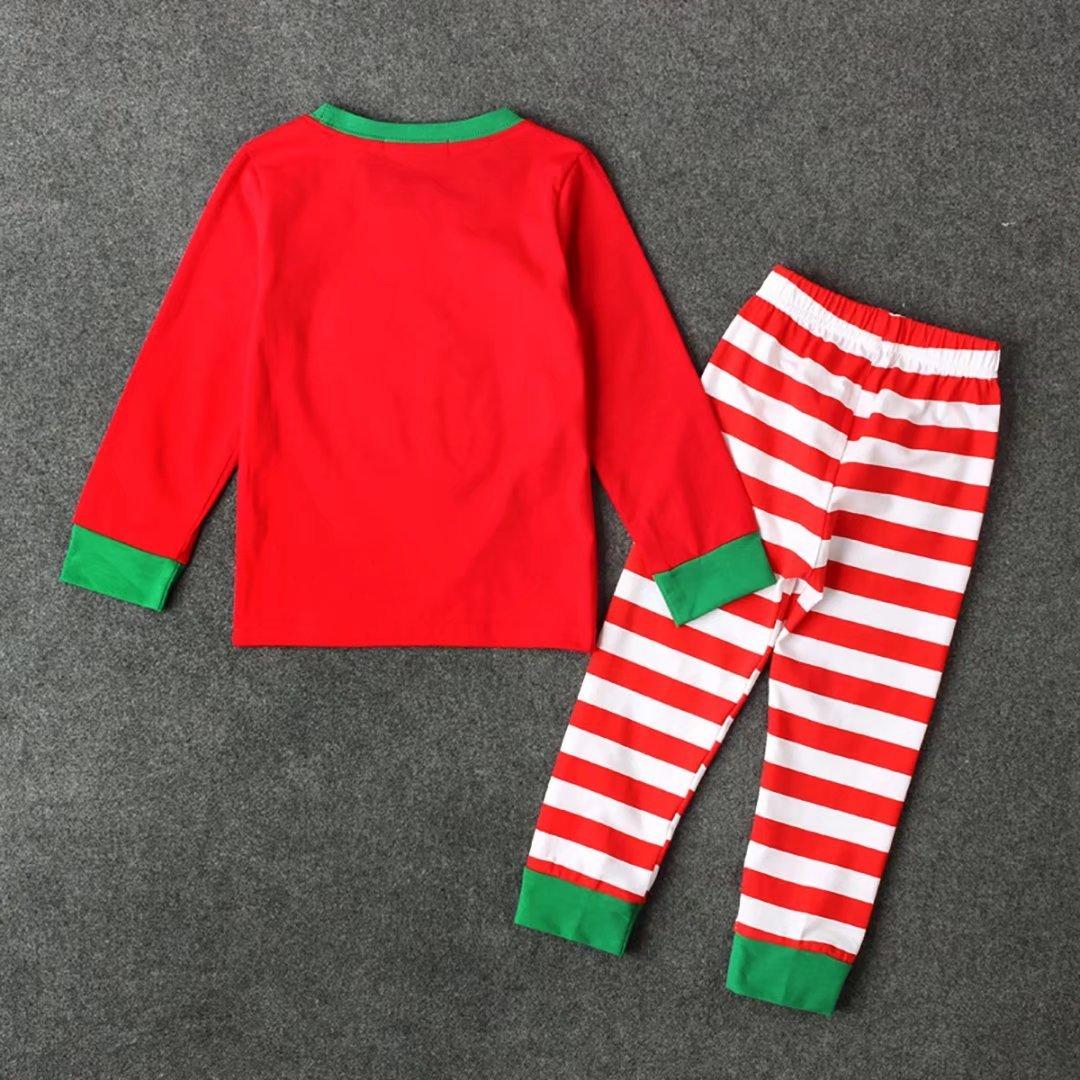 Navidad Pijamas largo los Niñas Niños dos piezas de para de Papá Noel 100% algodón 2-7 años: Amazon.es: Ropa y accesorios