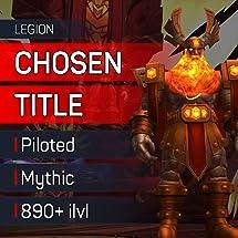 Amazon com: ✓ The Chosen Title - Trial of Valor - WoW Legion