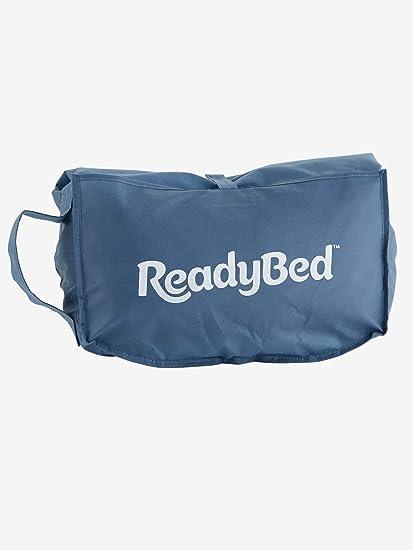 Vertbaudet Saco de Dormir Readybed® con colchón Integrado Pin PON Pin Azul Claro Liso con